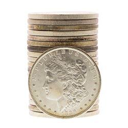 Roll of (20) Brilliant Uncirculated 1898-O $1 Morgan Silver Dollar Coins