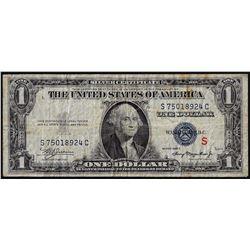 "1935A $1 Experimental ""S"" Note Silver Certificate"
