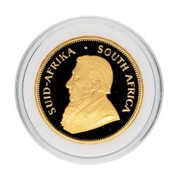1986 South Africa Proof Krugerrand 1 oz. Gold Coin