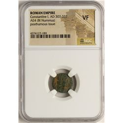 Constantine I, 307-337 AD Ancient Roman Empire Coin NGC VF