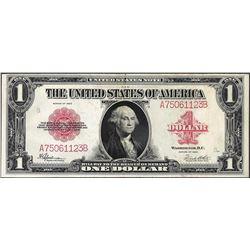 1923 $1 Legal Tender Red Seal Note