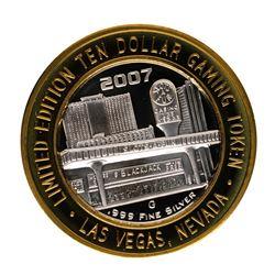 .999 Fine Silver Slots A Fun Casino Las Vegas, NV $10 Limited Edition Gaming Tok