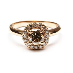 14KT Rose Gold 1.27 ctw Round Cut Diamond Engagement Wedding Band Ring