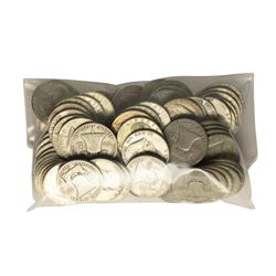 Bag of (100) Silver Franklin Half Dollar Coins - $50 Face Value