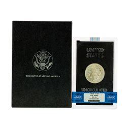 1884-O $1 Morgan Silver Dollar Coin NGC MS63 GSA Hoard w/ Box