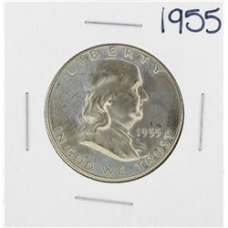 1955 Franklin Half Dollar Silver Proof Coin