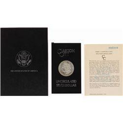 1880-CC $1 Morgan Silver Dollar Coin Uncirculated GSA Hoard w/ Box & COA