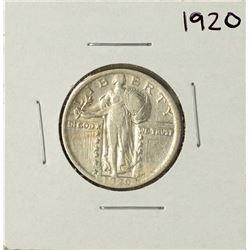 1920 Standing Liberty Quarter Coin