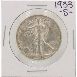 1933-S Walking Liberty Half Dollar Coin