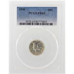 1941 Mercury Dime Proof Coin PCGS PR65