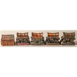 5 Copper Coin Banks (102757)