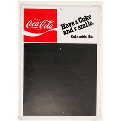 Coca-Cola / Hanging Blackboard.  (100595)
