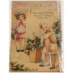 Die Cut photo of Christmas catalog cover  (81870)