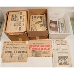Historic Event Newspaper Collection  (102689)