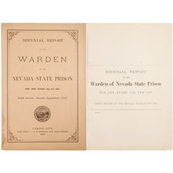 Biennial Report of the Warden of the Nevada State Prison  (81407)