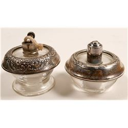 Sterling Table Lighters /  2 Items   (102084)