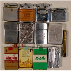 Cigarette Lighters  / 13 Items  (102086)