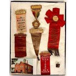 Maine Fire Fighter Ribbons (6)  (101743)