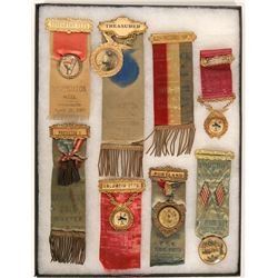 Massachusetts Fire Fighter Ribbons (8)  (101748)