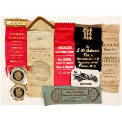 New York Fire Fighter Ribbons (6)  (101781)