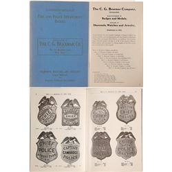 Illustrated Police and Fire Badges by Braxmar  (101782)