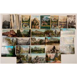 Half Dome, Yosemite Postcards and Photos  (102652)