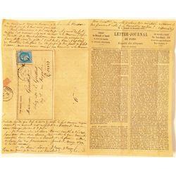 Siege of Paris Ballon Mail  (100535)