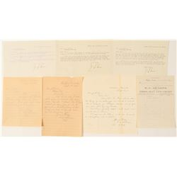Series of Correspondance between J. S. Cain and T . C. Sharpe  (99670)