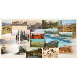 Castle Crags, CA Postcards  (102343)