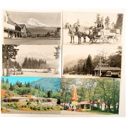 Dunsmuir/McCloud, CA Postcards with RPC's  (102344)