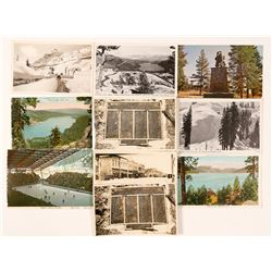 Lake Tahoe/Truckee, CA Postcards with 5 RPC's (10)  (90735)