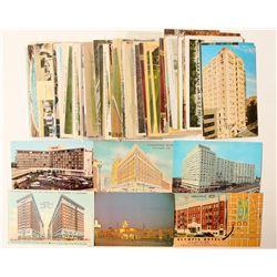 Los Angeles, CA Hotel Postcard Collection  (103290)