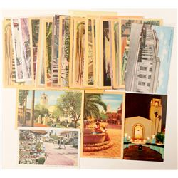 Los Angeles, CA Street and Union Station Postcards  (103287)