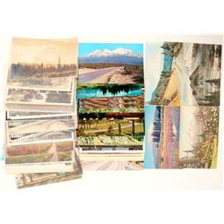 Mt. Shasta, CA Postcards with 20 RPC's  (102342)