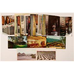 California Wine County Postcard Collection  (101798)