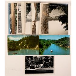 Russian River, CA Postcards with RPC's (15)  (101791)