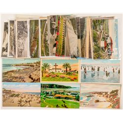 San Diego, CA Area Postcard Collection  (102364)