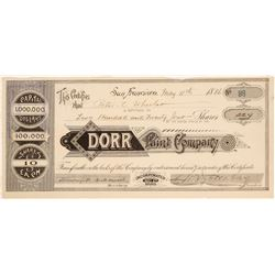 Dorr Paint Company Stock  (103544)