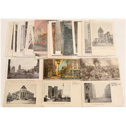 San Francisco Earthquake & Fire Chromolitho's  (102773)