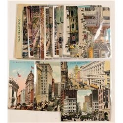 San Francisco Main Business District, RPC's & Chromolitho's  (102782)