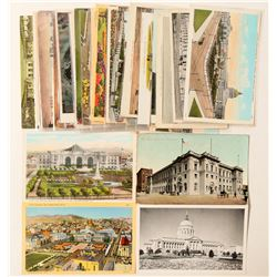 San Francisco, CA Civic Center and Post Office Postcards  (103280)
