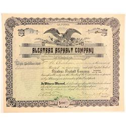 Alcatraz Asphalt # 1: Alcatraz Asphalt Company Stock  (103547)