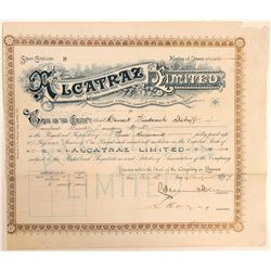 Alcatraz Asphalt # 2: Alcatraz Limited - an English Stock  (103549)