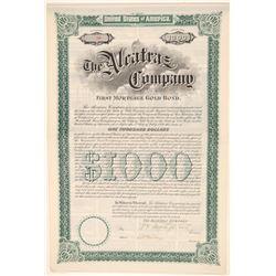 Alcatraz Asphalt # 3: Alcatraz Company Bond  (103548)