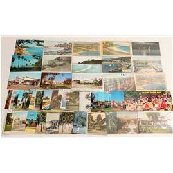 Santa Barbara, CA Area Postcards  (103355)