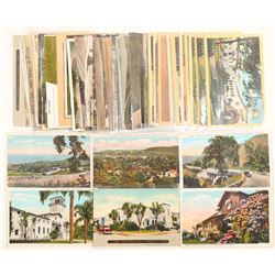 Santa Barbara, CA City Postcards  (103240)