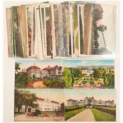Santa Barbara, CA Hotels Postcards  (103241)