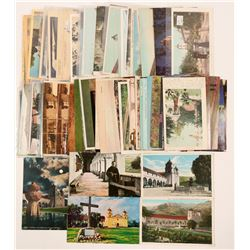 California Mission Postcards  (102676)