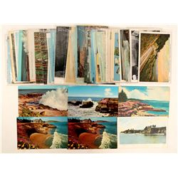Santa Cruz, CA Coast Postcards  (102681)