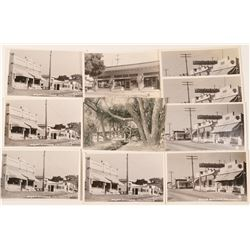 Boyes Hot Springs, CA RPC Postcards (10)  (90721)